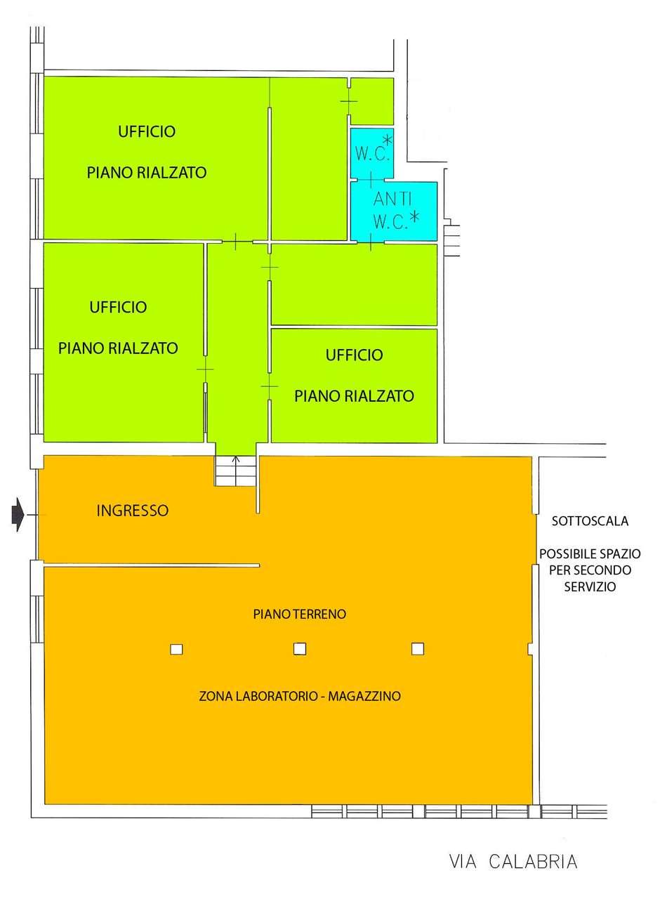 Laboratorio in affitto a Torino, 5 locali, zona Località: Parella, prezzo € 1.300 | CambioCasa.it