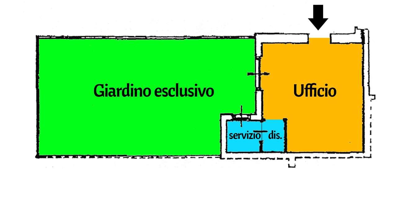 Ufficio / Studio in affitto a Venaria Reale, 1 locali, prezzo € 330 | CambioCasa.it