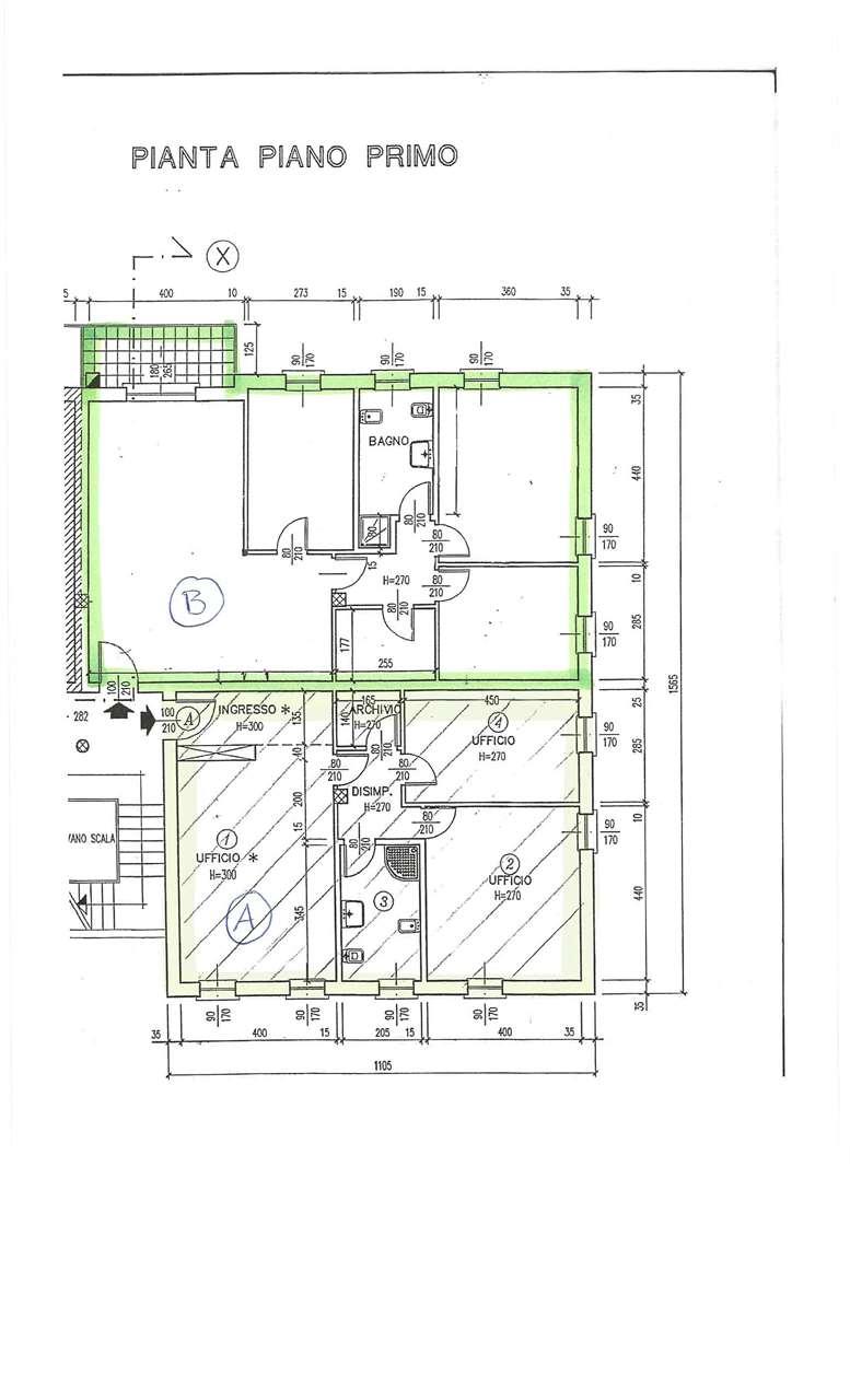Ufficio / Studio in vendita a Busseto, 7 locali, prezzo € 230.000 | Cambio Casa.it