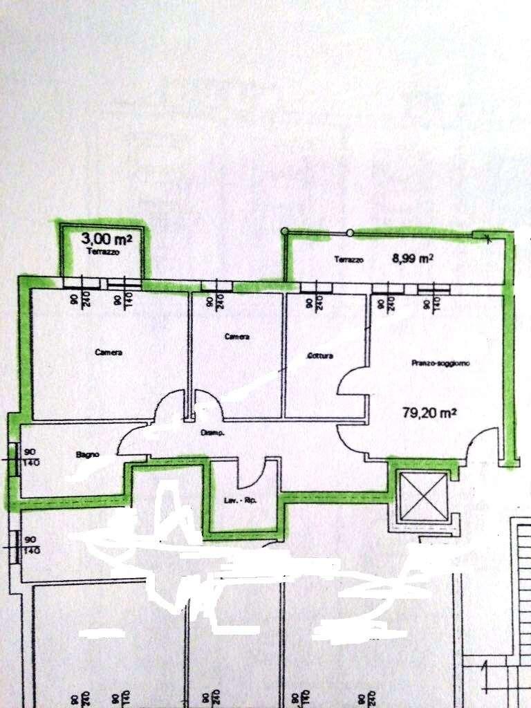 Appartamento in vendita a Vazzola, 4 locali, prezzo € 129.000 | CambioCasa.it