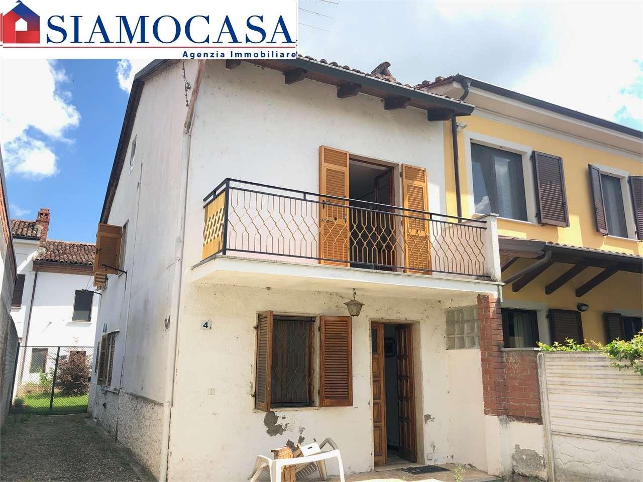 Soluzione Indipendente in vendita a Castelletto Monferrato, 3 locali, zona dinetto, prezzo € 43.000 | PortaleAgenzieImmobiliari.it