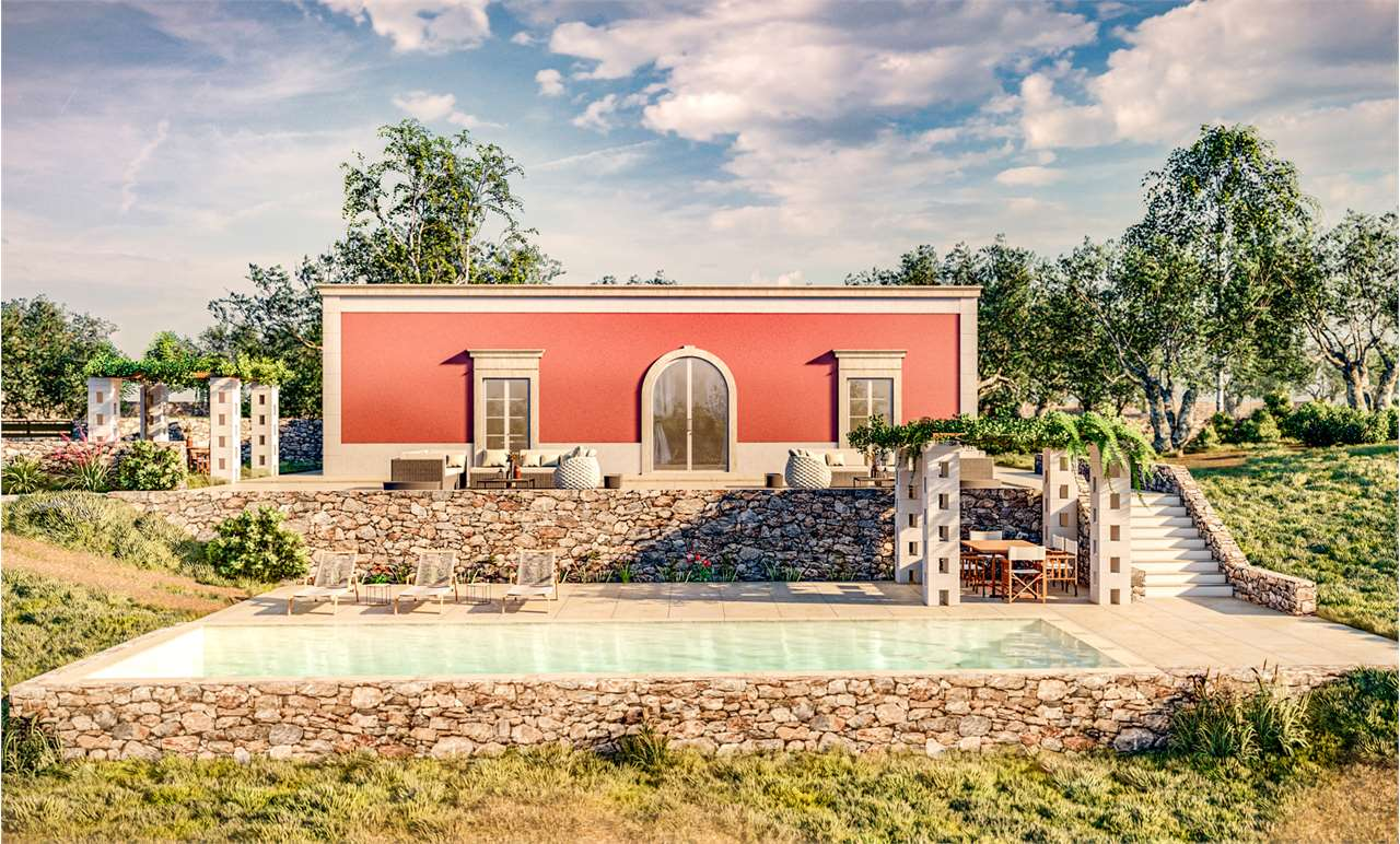 Villa Lamatroccola with swimming pool for sale