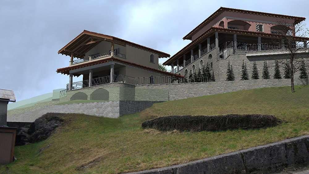 Villa Bifamiliare con splendida e ampia vista lago Gallery