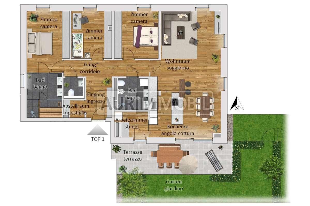 Appartamento in vendita a San Candido, 6 locali, zona o alla Drava, Trattative riservate | PortaleAgenzieImmobiliari.it