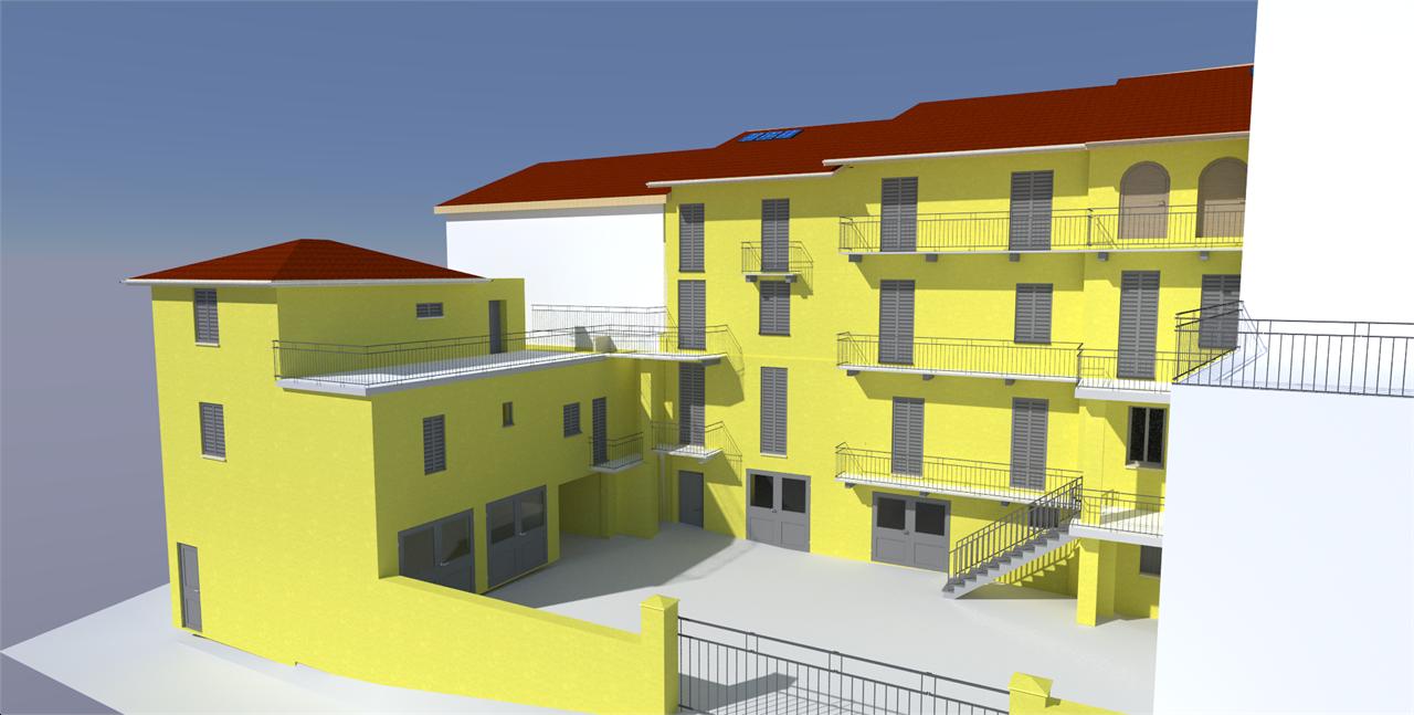 Appartamento in vendita a Montechiaro d'Asti, 3 locali, prezzo € 55.000   PortaleAgenzieImmobiliari.it