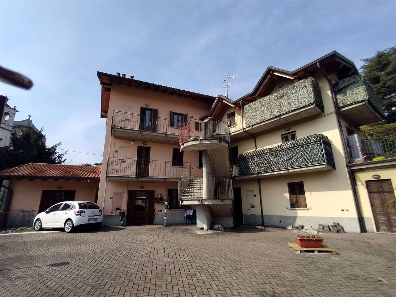 Vendita Trilocale Appartamento Cisano Bergamasco Via Antonio Rosmini 8 297418