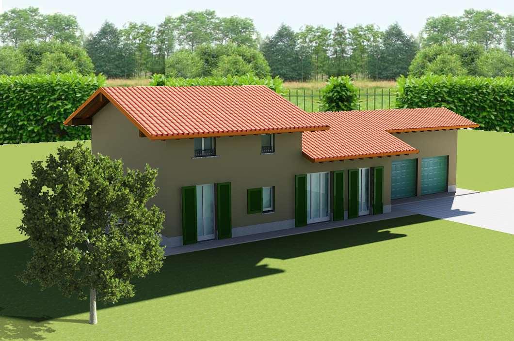 Villa a Schiera in vendita a Vergiate, 8 locali, prezzo € 260.000 | CambioCasa.it