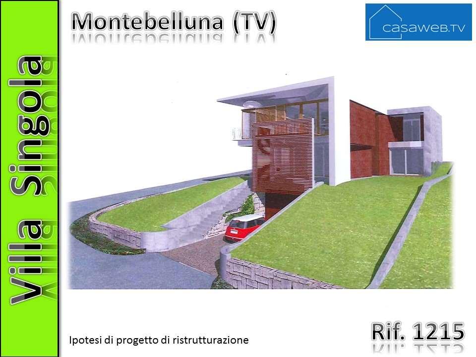 Villa singola Montebelluna 1215