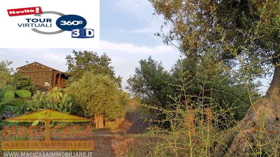 Terreno Agricolo in vendita a Camporotondo Etneo, 1 locali, prezzo € 85.000 | CambioCasa.it