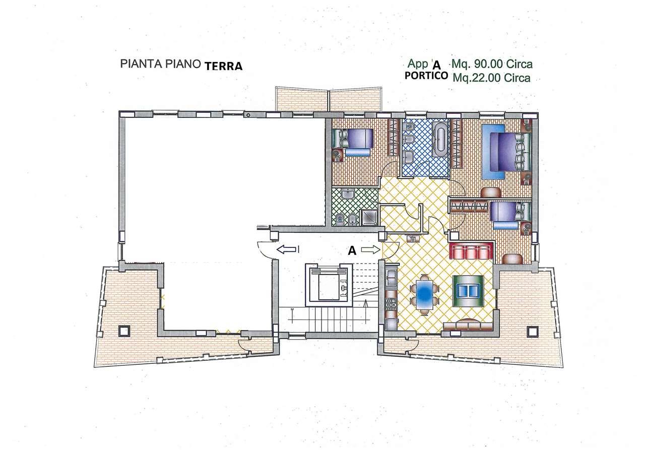 Appartamento Perugia NC009 PG PontePietra