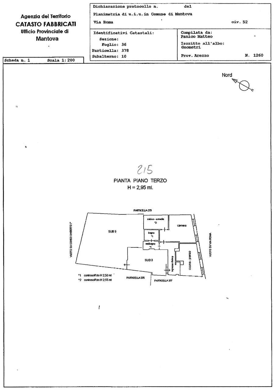 Vendita Bilocale Appartamento Mantova Via Roma  50144