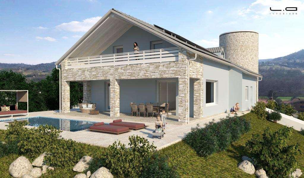 Villa in vendita a Rivalba, 6 locali, prezzo € 465.000   CambioCasa.it