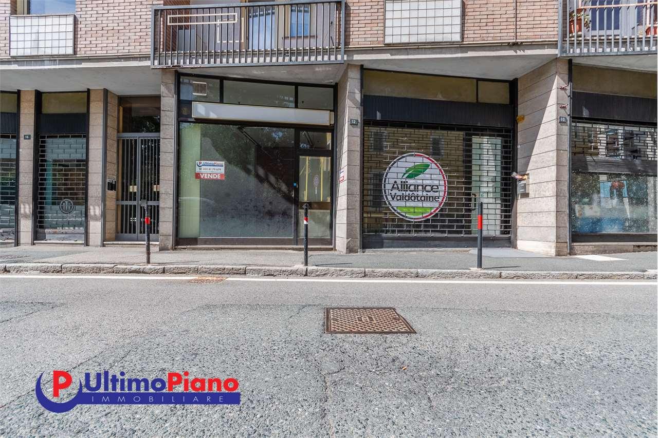 Negozio / Locale in vendita a Aosta, 2 locali, prezzo € 60.000 | PortaleAgenzieImmobiliari.it