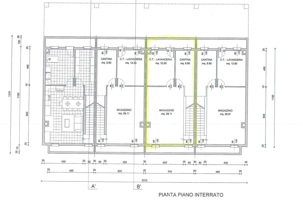 Villa a schiera Montebelluna V000521